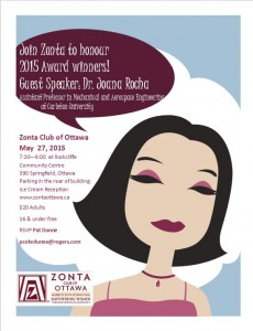 Zonta Ottawa 2015 Awards